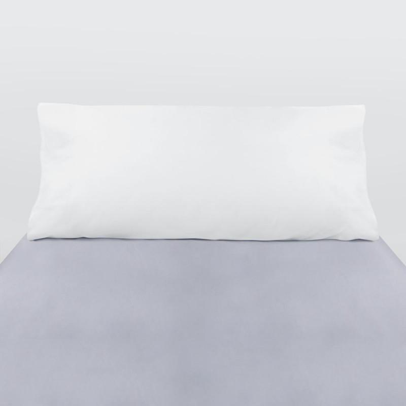 Funda almohada algodón blanco
