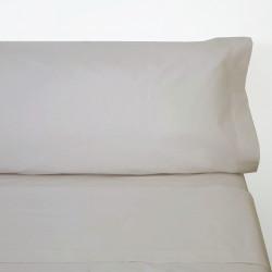 Juego de sábanas algodón beig