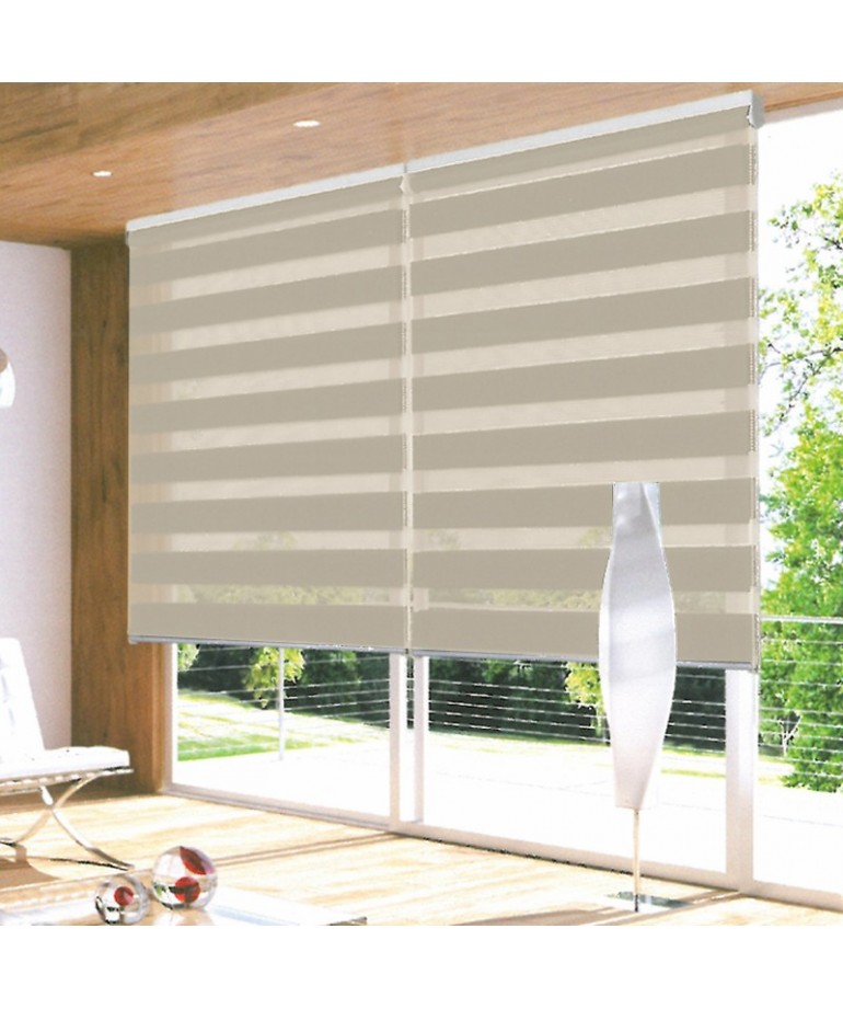 Enrollable duolux lino diezxdiez - Cortinas estores enrollables ...