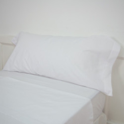 Funda almohada blanca