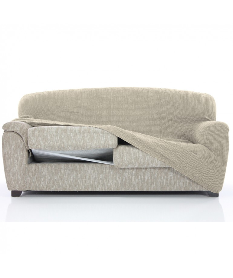 Funda sofa 3 plazas glamour diezxdiez for Futon de 2 plazas