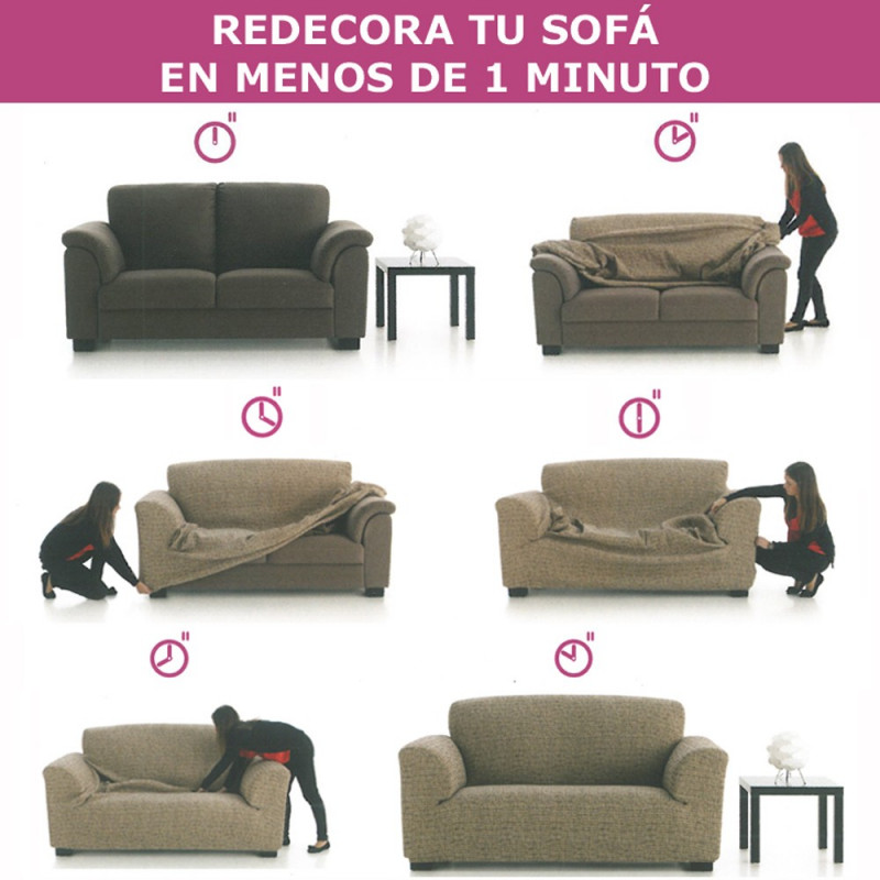 FUNDA SOFA 4 PLAZAS CARLA