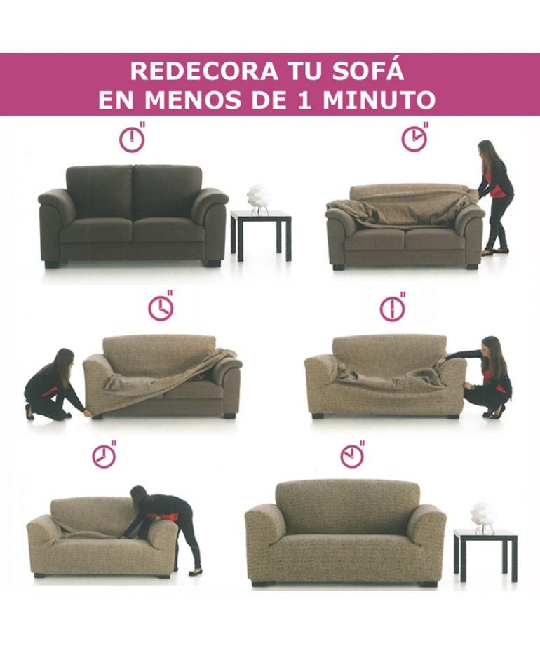 Nueva Textura Fundas Sofa.Funda Sofa 3 Plazas Glamour Diezxdiez