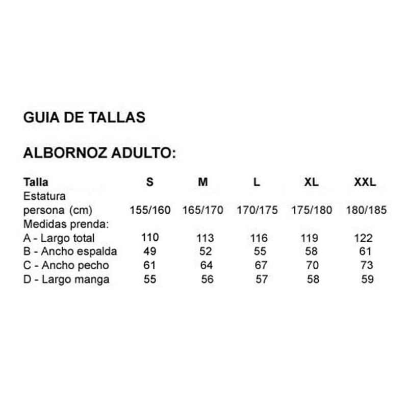 ALBORNOZ MICROFIBRA ADULTO NARANJA