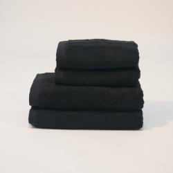 Toalla algodón 550 gr/m2 negro