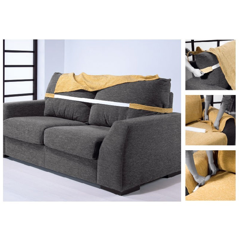 FUNDA SOFA 2 PLAZAS PAULA