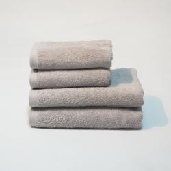 Toalla algodón 550 gr/m2 perla