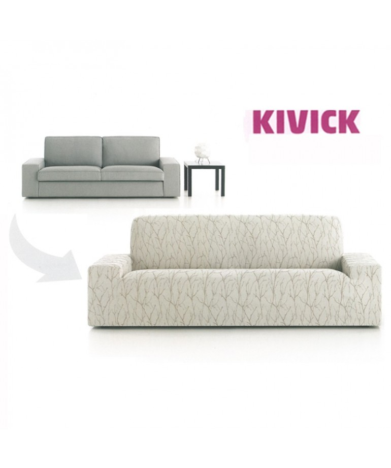 Funda sofa 2 3 plazas kivick ikea diezxdiez for Funda sofa dos plazas