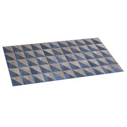Alfombra de vinilo wood geom 50x110