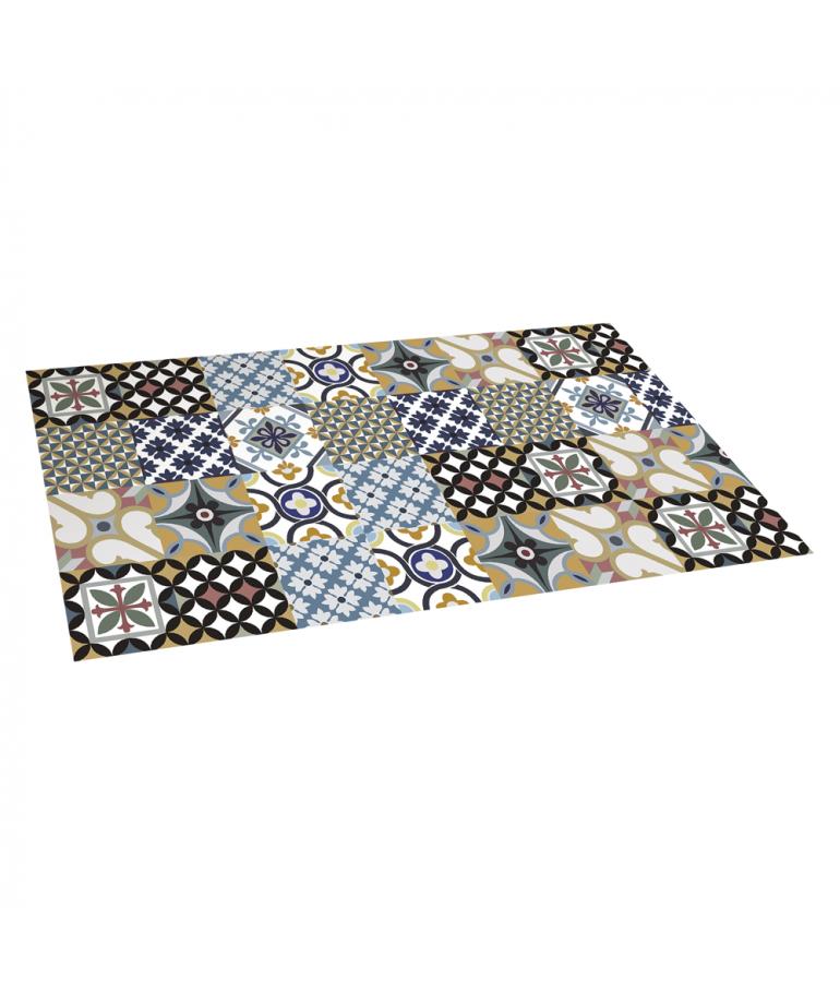 Alfombra vinilo a medida latest alfombras lavables tanto - Alfombra pasillo vinilo ...