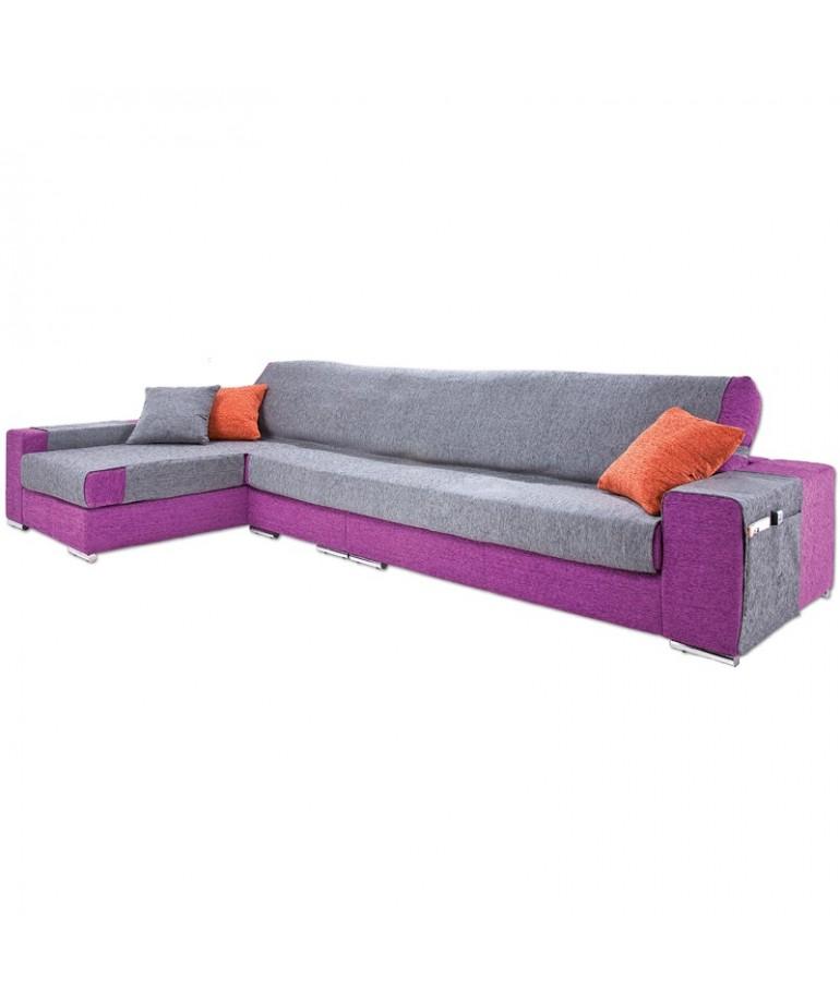 Funda de sof chaise longue paula diezxdiez - Funda para sofas ...