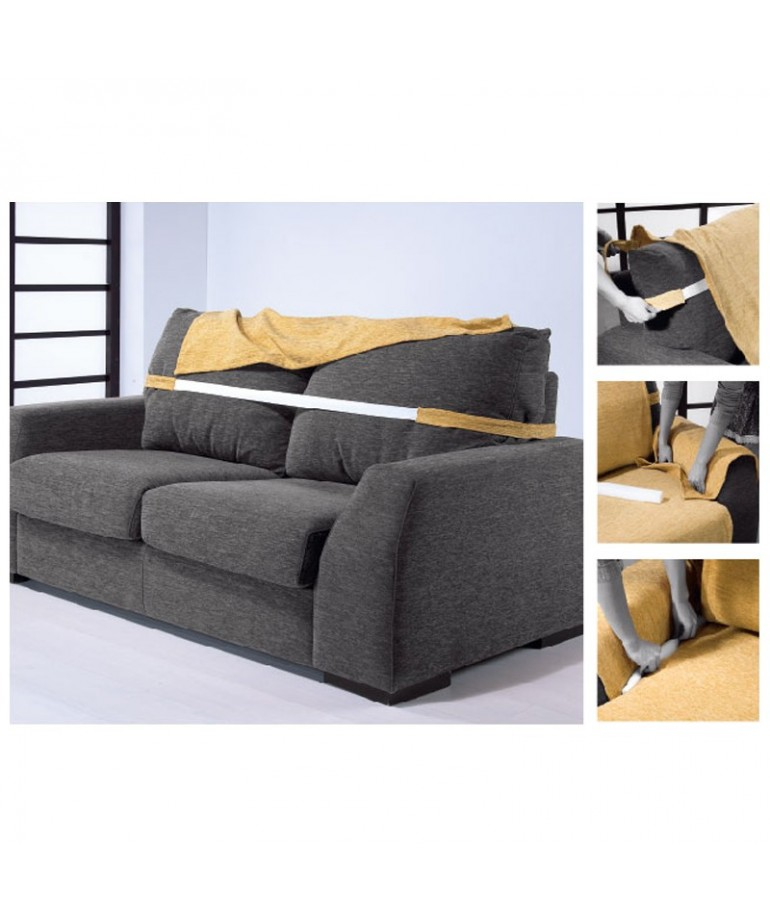 Funda de sof chaise longue paula diezxdiez - Funda de sofa chaise longue ...