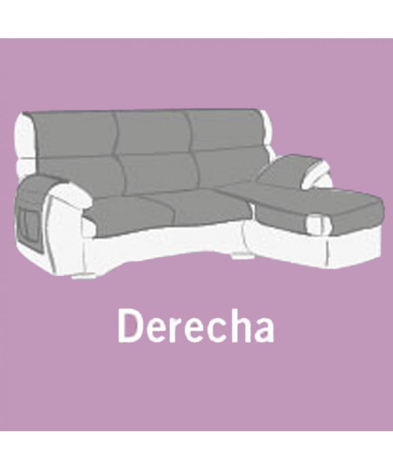 fundas para sofas con cheslong FUNDA SOF CHAISE LONGUE PAULA DiezxDiez