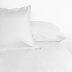 Juego de sábanas venus plus liso 180 hilos blanco