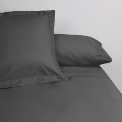 Juego de sábanas venus plus liso 180 hilos carbon