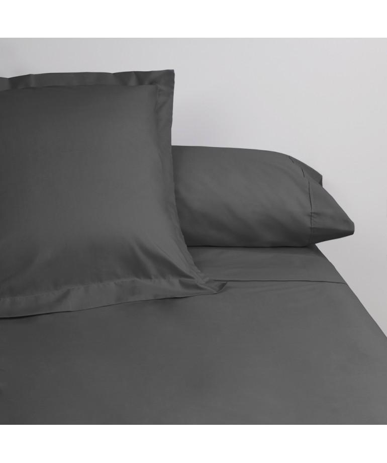 Juego de sábanas venus plus liso 180 hilos carbon DiezxDiez